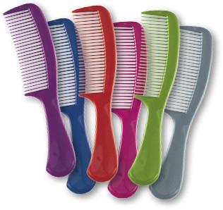 Pieptene pentru păr 60304, verde - Top Choice — Imagine N3