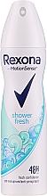 "Parfumuri și produse cosmetice Deodorant antiperspirant spray ""Prospețimea sufletului"" - Rexona Motion Sense Shower Clean Deodorant Spray"