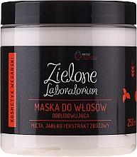 Parfumuri și produse cosmetice Mască regenerantă cu extracte de mentă, măr și cereale pentru păr - Zielone Laboratorium