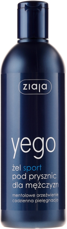 Gel de duș pentru bărbați SPORT - Ziaja Shower Gel for Men — Imagine N1