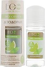 """Parfumuri și produse cosmetice Deodorant pentru corp """"Lămâie și portacală"""" - ECO Laboratorie Deo Crystal"""