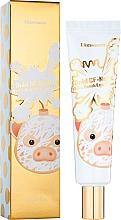 Parfumuri și produse cosmetice Cremă pentru pleoape - Elizavecca Gold Cf Nest White Bomb Eye Cream