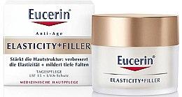 Parfumuri și produse cosmetice Cremă de zi anti-îmbătrânire pentru față - Eucerin Hyaluron-Filler + Elasticity Day SPF15 Cream