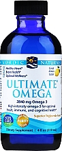 "Parfumuri și produse cosmetice Supliment alimentar, lichid ""Omega-3"", 2840 mg - Nordic Naturals Ultimate Omega Xtra"