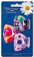 Parfumuri și produse cosmetice Clește pentru păr, 24818, multicolor - Top Choice