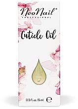 """Масло для кутикулы """"Персик"""" - NeoNail Professional Cuticle Oil — фото N1"""