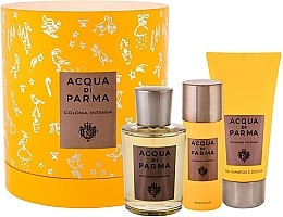 Parfumuri și produse cosmetice Acqua Di Parma Colonia Intensa - Set (edc/100ml + sh/gel/75ml + deo/50ml)