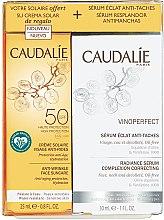 Parfumuri și produse cosmetice Set - Caudalie Vinoperfect Set (ser/30ml + sun/cr/25ml)