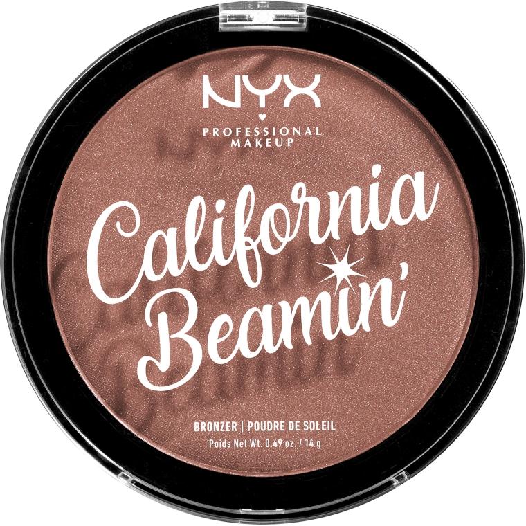Bronzer pentru față și corp - NYX Professional California Beamin Face & Body Bronzer
