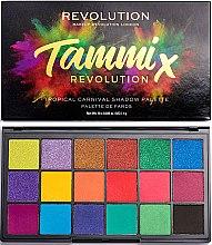 Parfumuri și produse cosmetice Paletă farduri de ochi - Makeup Revolution X Tammi Tropical Carnival Palette