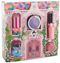 """Parfumuri și produse cosmetice Set de cosmetică pentru fetițe """"Căsuța magică"""" - Tutu Cottage set (balm/4ml+gloss/lip/7ml+polish/5ml+eye/cheek/shadow/4,5ml+eye/lip/cheek/shadow/4,5ml) (04 -Turquoise Pointe)"""