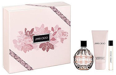 Jimmy Choo Jimmy Choo - Set (edp/100ml + b/lot/100ml + edp/7,5ml) — Imagine N1