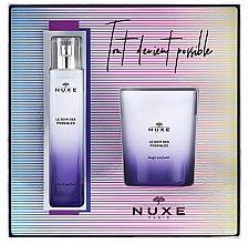 Parfumuri și produse cosmetice Nuxe Le Soir des Possibles - Set (edp/50 ml + candle/140 g)