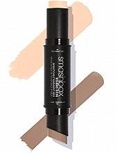 Parfumuri și produse cosmetice Stick corector 2 în 1 pentru față - Smashbox Studio Skin Shaping Foundation Stick