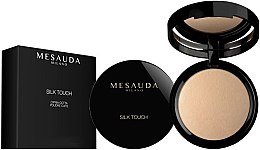 Parfumuri și produse cosmetice Pudră coaptă pentru față - Mesauda Milano Silk Touch Powder