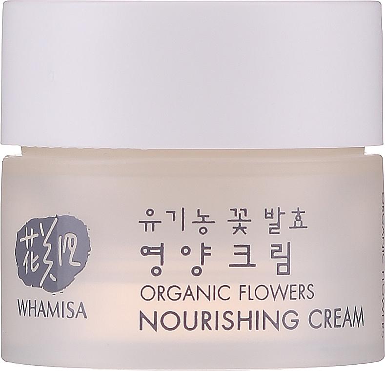 Cremă nutritivă de față - Whamisa Organic Flowers Nourishing Cream (mini) — Imagine N1