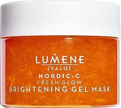 Parfumuri și produse cosmetice Mască de gel cu efect iluminant pentru față - Lumene Valo Nordic-C Fresh Glow Brightening Gel Mask