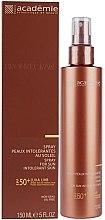 Духи, Парфюмерия, косметика Солнцезащитный спрей для чувствительной кожи SPF 50+ - Academie Bronzecran Body Spray