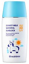 Parfumuri și produse cosmetice Cremă protecție solară cu lapte de măgar - SeaNtree Donkey Milk Waterful Sun Cream SPF 50+ PA+++