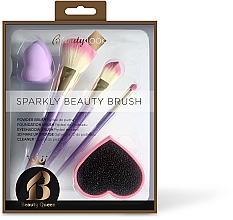 Parfumuri și produse cosmetice Set pensule de machiaj - Beauty Look Sparkly Beauty Brush