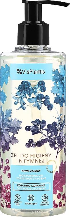 Gel cu coajă de stejar și merișor pentru igiena intimă - Vis Plantis Herbal Vital Care Gel For Intimate Hygiene