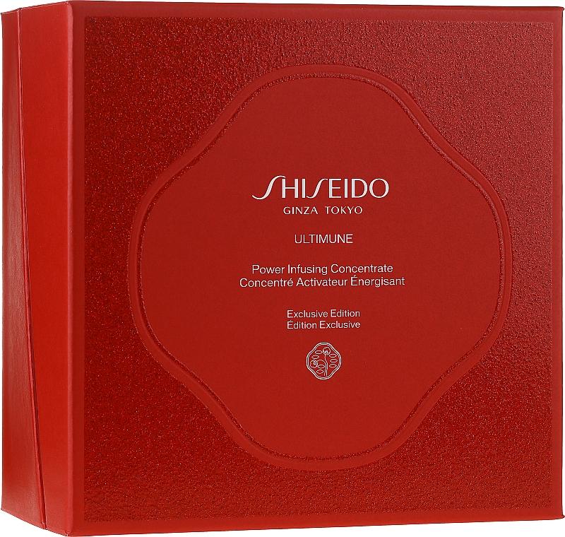 Set - Shiseido Ultimune (conc/50ml + foam/15ml + softner/30ml + conc/3ml) — Imagine N1