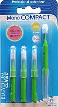 Parfumuri și produse cosmetice Perie interdentară, 4 bucăți - Elgydium Clinic Monocompact Green