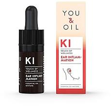 Parfumuri și produse cosmetice Amestec de uleiuri esențiale - You & Oil KI-Ear Inflammation Touch Of Welness Essential Oil