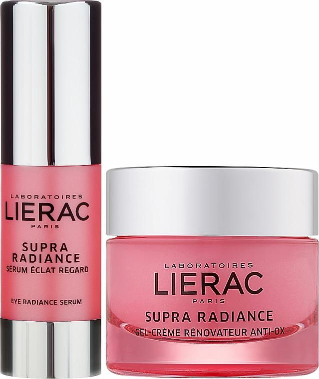 Set - Lierac Supra Radiance (gel/cr/50ml + eye/ser/15ml) — Imagine N2