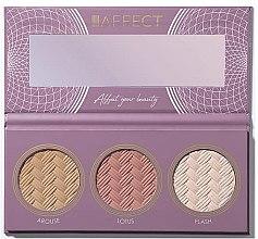 Parfumuri și produse cosmetice Paletă pentru conturarea feței - Affect Cosmetics Contour Palette 2