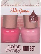 Parfumuri și produse cosmetice Set - Sally Hansen Color Therapy Nail Polish Mini Set (nail/polish/2x5ml)