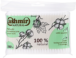 Parfumuri și produse cosmetice Ватные палочки, 160 шт - Cashmir Natural Cotton Buds