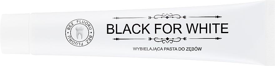 Зубная паста с активированным углем - Biomika Black For White Teeth Paste — фото N2