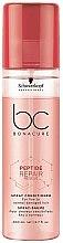 Parfumuri și produse cosmetice Balsam-spray regenerant de păr - Schwarzkopf Professional BC Bonacure Peptide Repair Rescue Spray Conditioner