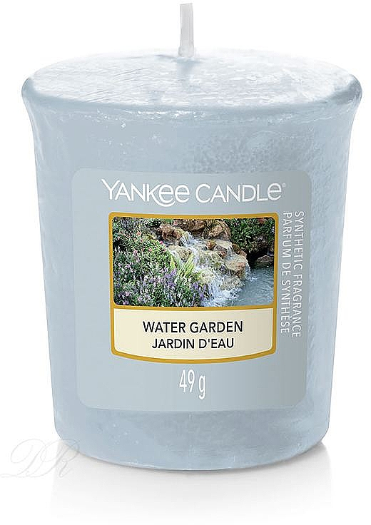 Lumânare aromată - Yankee Candle Votiv Water Garden