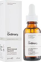 Parfumuri și produse cosmetice Ulei de squalane 100% natural - The Ordinary 100% Plant-Derived Squalane
