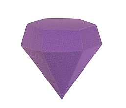 "Parfumuri și produse cosmetice Burete de machiaj ""Diamant"", violet - Gabriella Salvete Diamond Sponge"