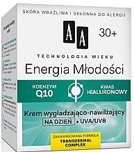 Parfumuri și produse cosmetice Cremă hidratantă de zi 30+ - AA Cosmetics Age Technology Youthful Vitality Smoothing And Moisturizing Day Cream