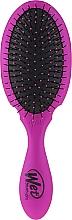 Pieptene pentru păr, mov - Wet Brush Pro Detangler Plus Purple — Imagine N2