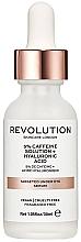 Parfumuri și produse cosmetice Ser hidratant pentru zona ochilor - Revolution Skincare 5% Caffeine Solution + Hyaluronic Acid