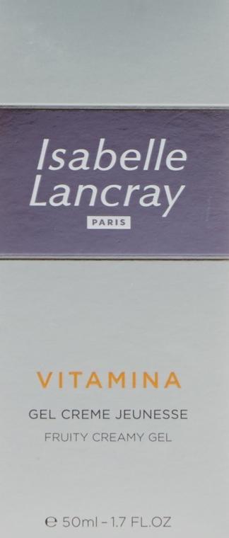 Cremă de față - Isabelle Lancray Vitamina Fruity Creamy Gel — Imagine N2