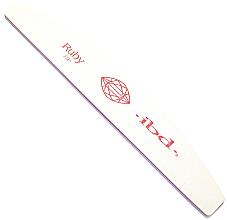 """Parfumuri și produse cosmetice Pilă de unghii """"Ruby"""", 100/100 - IBD Ruby File"""