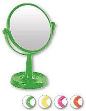 Parfumuri și produse cosmetice Oglindă suport 85734, rotundă, 15,5 cm, verde - Top Choice Colours Mirror