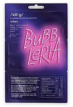 Parfumuri și produse cosmetice Mască cu bule pentru față - Kili·g Urban Anti Pollution Deep Clean Bubble Mask