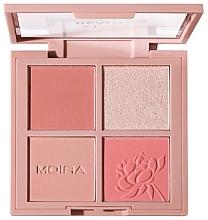 Parfumuri și produse cosmetice Paletă de machiaj - Moira Stay Ready Face Palette