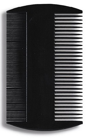 Pieptene pentru păr 8,8 cm, negru - Donegal Hair Comb