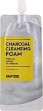 Духи, Парфюмерия, косметика Очищающая пенка для лица c древесным углем - SNP Mini Carcoal Cleansing Foam (мини)