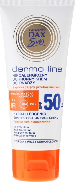 Cremă hipoalergenică pentru față - DAX Sun Dermo Line Face Cream SPF 50 — Imagine N2