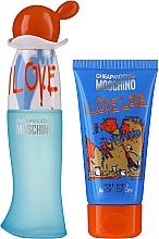 Parfumuri și produse cosmetice Moschino I Love Love - Set (edt/30ml + b/lot/50ml)