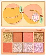 Parfumuri și produse cosmetice Paletă farduri de ochi - I Heart Revolution Mini Tasty Peach Eyeshadow Palette
